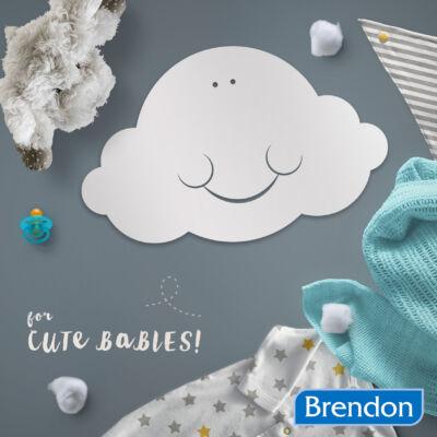 Felhő baba tükör