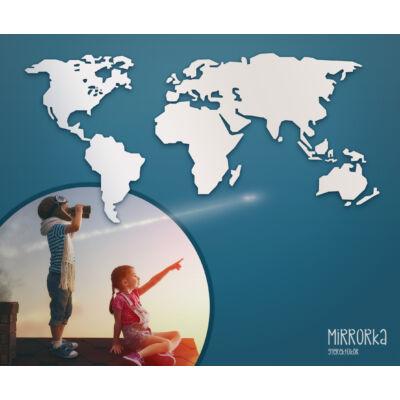 világtérkép tükör
