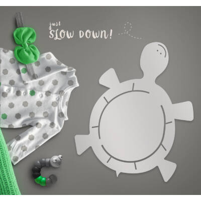 Teknős piciknek baba tükör