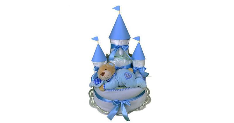 kék kastély pelenkatorta